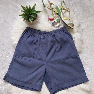 Vintage Penmans Elastic Waist Bermuda Shorts